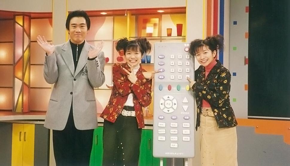 大阪放送局の公開スタジオから、ハイビジョンを駆使した生放送