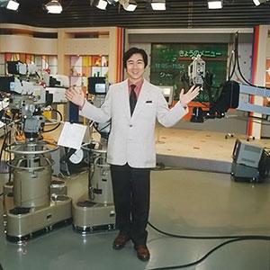 「とっておき関西」公開生放送のスタジオにて